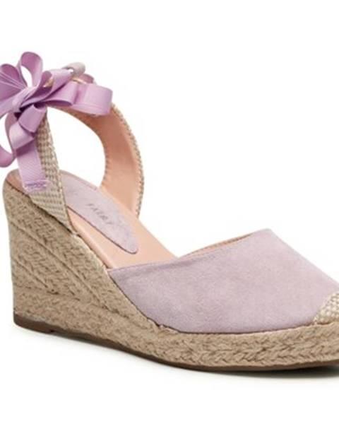 Fialové sandále Jenny Fairy