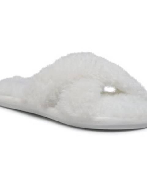 Biele papuče DeeZee