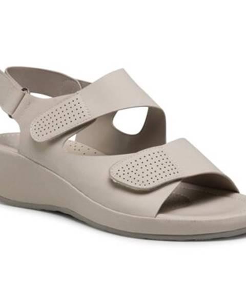 Béžové sandále GO SOFT