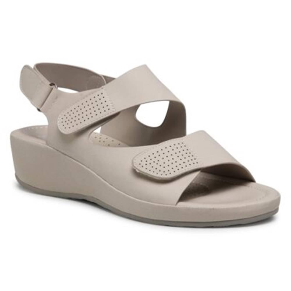 GO SOFT Sandále GO SOFT WS240801-01 Imitácia kože/-Imitácia kože