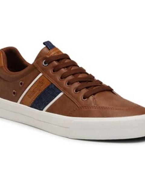 Hnedé topánky Wrangler