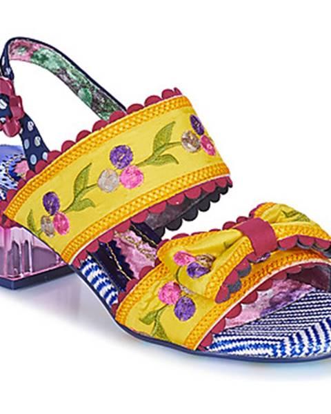 Žlté sandále Irregular Choice