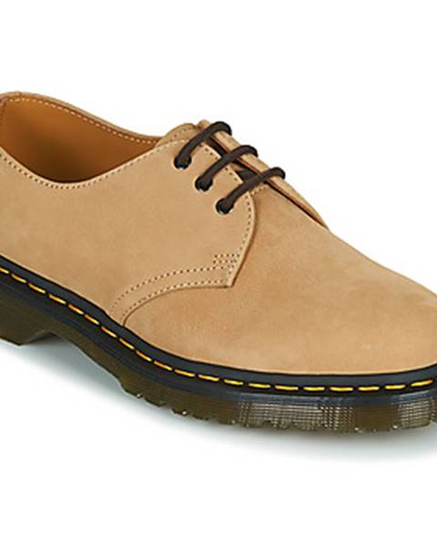 Béžové topánky Dr Martens