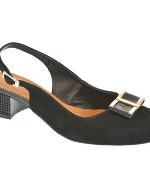 Čierne sandále John-C