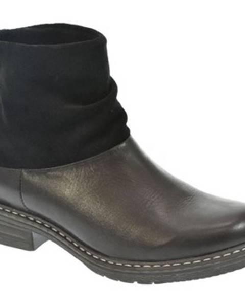 Čierne topánky Robson