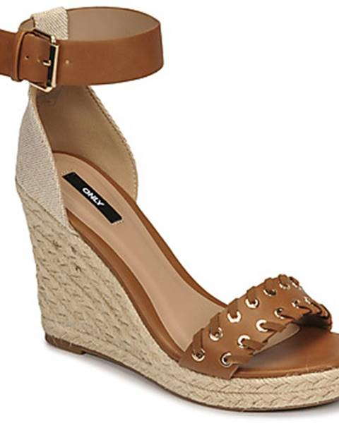 Hnedé sandále Only