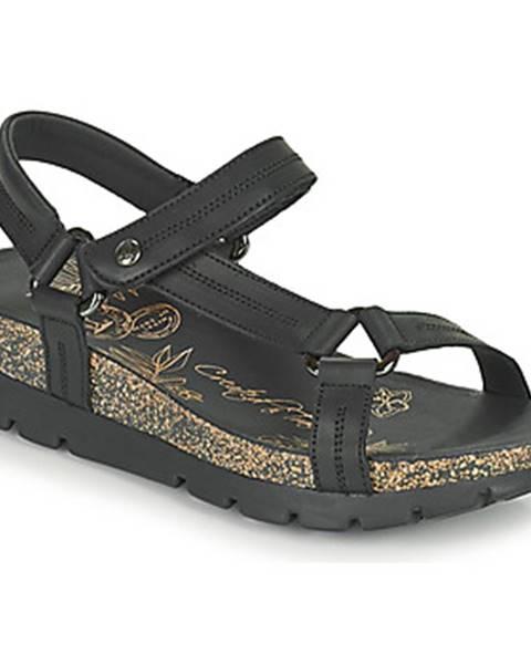 Čierne sandále Panama Jack