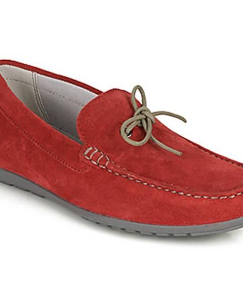 Červené topánky Geox