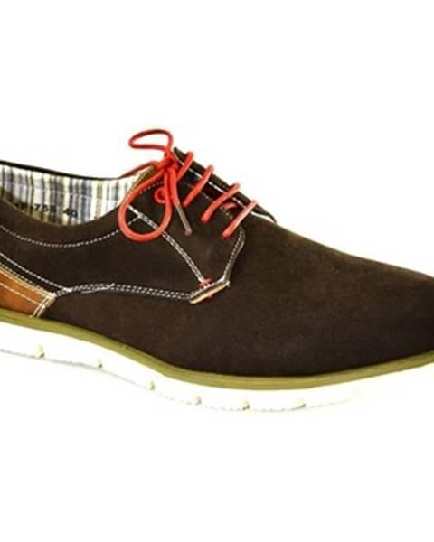 Hnedé topánky Just Mazzoni