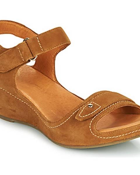Hnedé sandále Mam'Zelle