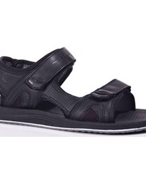 Čierne sandále New Balance