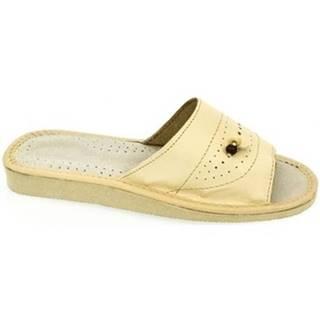 Sandále John-C  Dámske béžové papuče ALA