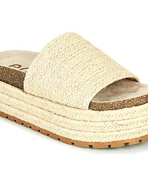 Béžové topánky Emmshu