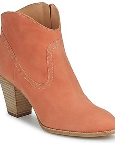 Oranžové čižmy Paul   Joe
