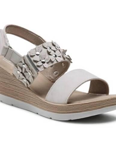 Béžové sandále INBLU