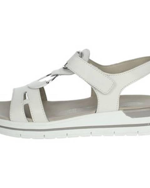 Biele sandále Marco Tozzi