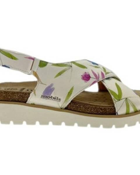 Biele sandále Mephisto