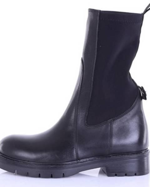 Čierne topánky Chiarini Bologna