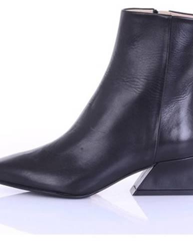 Čierne topánky Fabio Rusconi