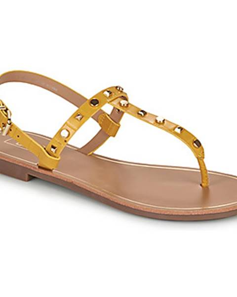 Žlté sandále Only