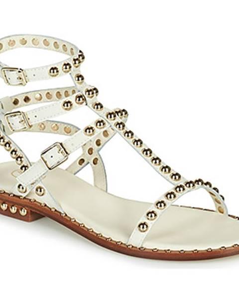 Biele sandále Ash