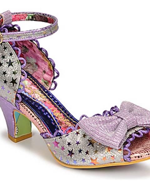 Fialové sandále Irregular Choice