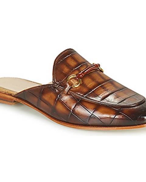 Hnedé topánky Melvin   Hamilton