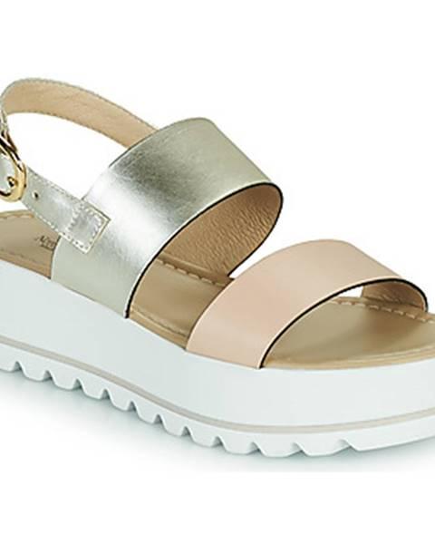 Biele sandále NeroGiardini