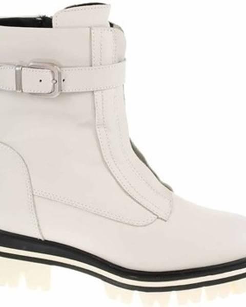 Béžové topánky Tamaris