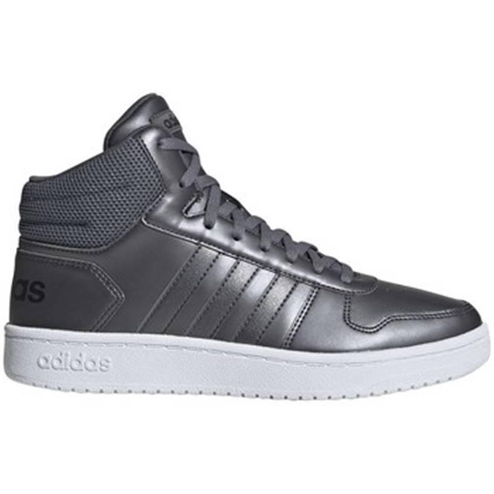 adidas Členkové tenisky adidas  Hoops 20 Mid