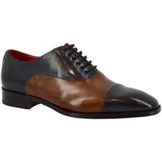 Richelieu Leonardo Shoes  6884I20 TOM MONTECARLO DELAVE BLU