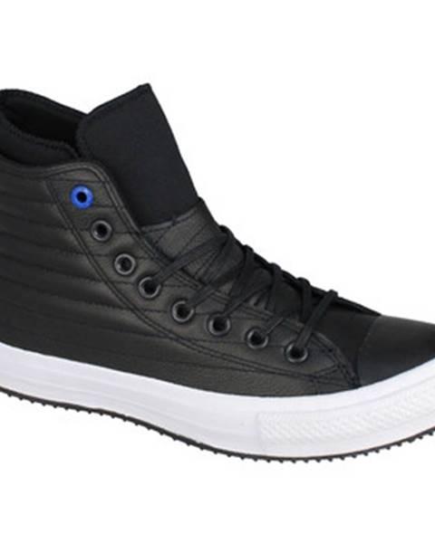 Čierne polokozačky Converse