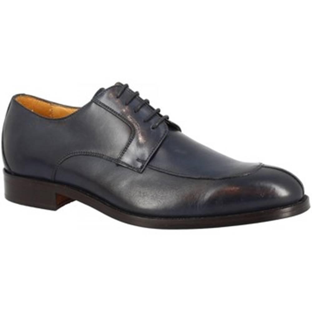 Leonardo Shoes Derbie Leonardo Shoes  07012 TUSCANIA 118 BLU