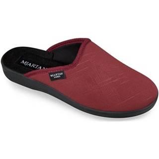 Papuče Mjartan  Dámske červené papuče  IVANKA