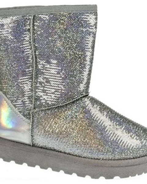 Strieborné topánky Seastar