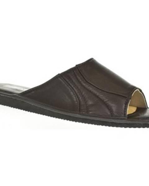 Čierne papuče Just Mazzoni