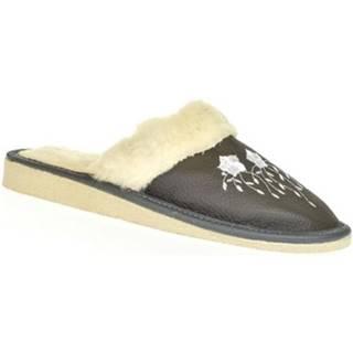Papuče John-C  Dámske sivé papuče MATILDA