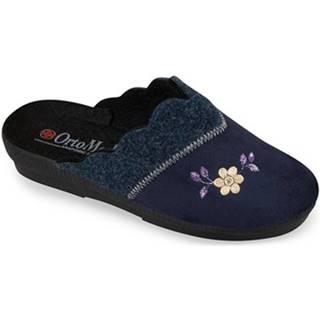 Papuče Mjartan  Dámske modré papuče  ALALIE