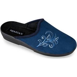 Papuče Mjartan  Dámske modré papuče  CAMILIA