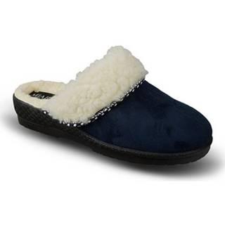 Papuče Mjartan  Dámske modré papuče  KIKA