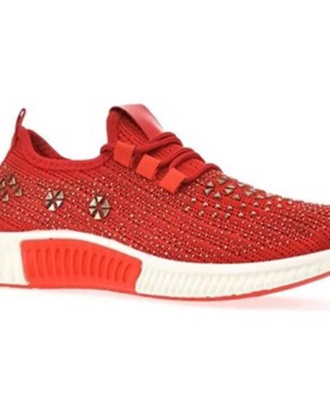 Červené tenisky Bosido