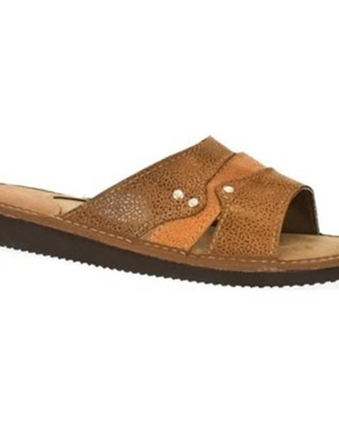 Hnedé topánky John-C