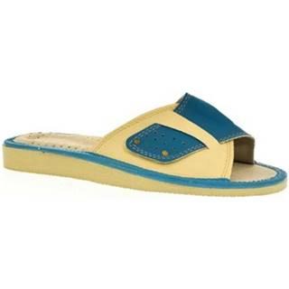 Papuče John-C  Dámske modré papuče ULA