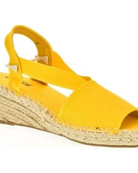 Žlté sandále Comer
