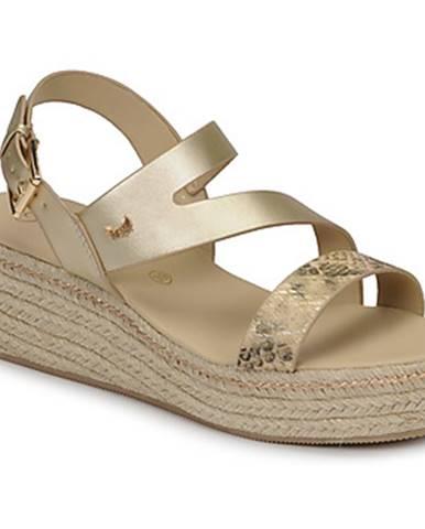Zlaté sandále Kaporal