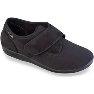 Papuče Mjartan  Pánske čierne papuče  NATS