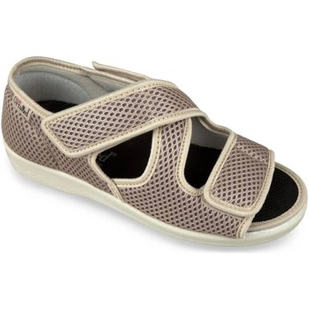 Mjartan Papuče Mjartan  Dámske béžové papuče  CALEY