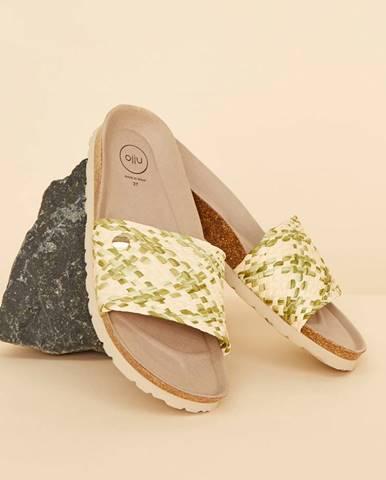 Béžové papuče OJJU