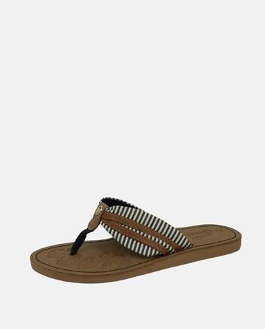 Hnedé papuče Tom Tailor