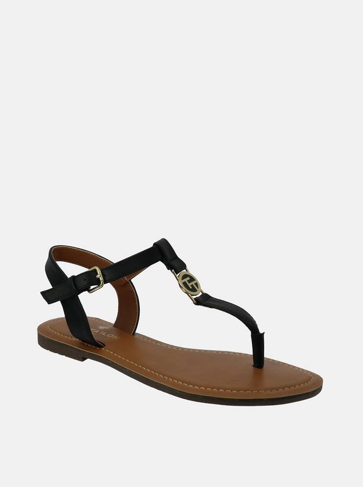 Tom Tailor Tmavomodré dámske sandále Tom Tailor